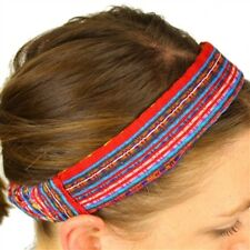 #206 Two Pack Lot Expandable Head Wrap Hand Made Headband Peru Hair Band Pack Mi
