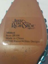 "Just the Right Shoe by Raine 2000 ""Midori"" Kitten Heel Mule no box"