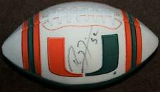 MIAMI HURRICANES RAY LEWIS SIGNED JERSEY FOOTBALL