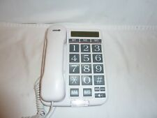 Telcom Big Button Corded Phonehouse office telephone with speaker phone working