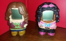"HURU HUMI (SET OF 2)  BRANDY AND HEIDI INTERACTIVE TOYS  ABOUT 3 1/2 "" TALL (USE"
