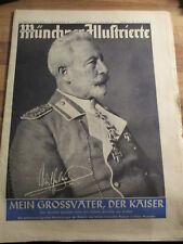 Die neue Münchner Illustrierte #38 von 1950 Kaiser Wilhelm Adel Prinzessin rar