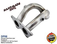 Downpipe Exhaust 54mm stainless steel for ALFA ROMEO 147 156 Twin Spark DP08