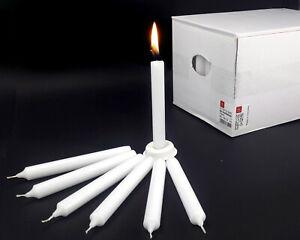 160 Haushaltskerzen Kerzen weiß 190 x 22 mm 7 Std. Brenndauer Topqualität