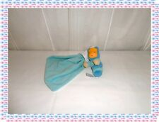 V- Peluche Doudou Fille Chenille Luciole Bleue  Cotoons Glowing Smoby