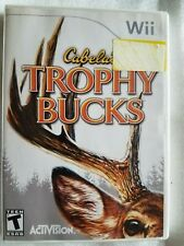 Trophy Bucks - Nintendo WII  Cabela's. Case and instructions included.
