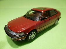 MINICHAMPS SAAB 900 SE 1995 - 5-DOORS RED 1:43 - RARE SELTEN - EXCELLENT