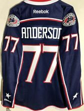 Reebok Premier NHL Jersey Columbus Blue Jackets Josh Anderson Navy sz 2X