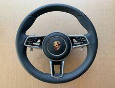 OEM Porsche 911 MACAN CAYENNE CAYMAN BOXTER GTS Steering Wheel Paddles Heating