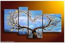 Modern Abstract Huge Wall Art Oil Painting On Canvas tree ( no frame )