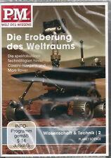 P.M. WELT DES WISSENS < DIE EROBERUNG DES WELTALS > DVD NEU OVP IN FOLIE