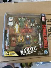 transformers siege war for cybertron Trilogy Target Exclusive 10 Pack Micro Mast