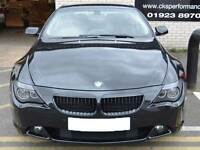 BMW E63 E64 6 Series Coupe Cabriolet Kidney Grill Grille Grills Gloss Black