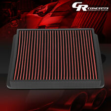 RED HIGH FLOW INTAKE PANEL AIR FILTER FOR 1992-1999 SUPRA/-2004 TACOMA/4RUNNER