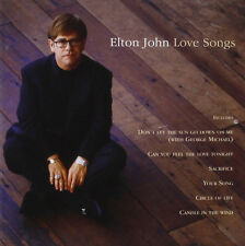 "ELTON JOHN ""Love Songs"" 1995 17Trk CD ""CanYouFeelTheLoveTonight,CircleOfLife"""