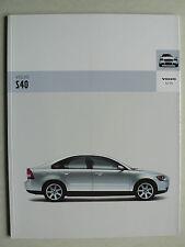 Prospekt Volvo S40, 2004, 64 Seiten