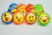 12 PCS Light Up YoYo Birthday Party Favors Emoji Toy Gift Yoyo