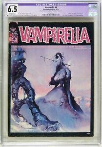 D190. VAMPIRELLA #4 Warren Publishing CGC Apparent 6.5 VF+ (1970)
