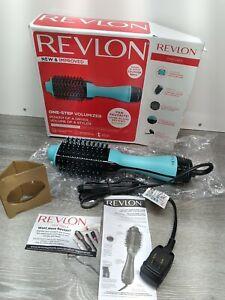 Revlon Unique 1 Step Home 2-in-1 Hair Dryer Volumizer Brush, Mint