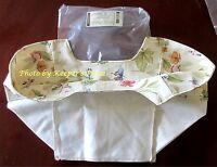 Longaberger Picnic Tote Botanical Fields Over Edge Basket Liner New In Package
