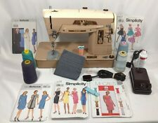 SINGER 403A Sewing Machine Heavy Duty W/ CASE and LED Light Bulb Free Shipping
