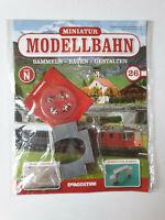 DeAgostini  Miniatur Modellbahn Spur N Nr.26  mit Heft