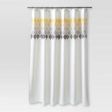 Medallion Shower Curtain Ombré Cream - Threshold™