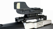 SNIPER REFLEX SIGHT WITH SINGLE RAIL MOUNT FOR RUGER MINI 14 RANCH PARTS.