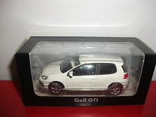 (23.3.15.1) VW Volkswagen Golf V 5 GTI blanc voiture 3 inch inches Norev 1/54