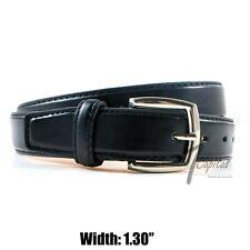 Men's Genuine Leather Metal Buckle Casual Dress Comfort Jean Belt Black M L XL