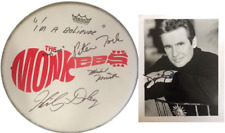The Monkees Signed Drum Dolenz Nesmith Tork Autograph Drumhead Davey Jones Photo