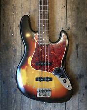 1965 FENDER JAZZ BASS VINTAGE SUNBURST WITH HARDSHELL CASE