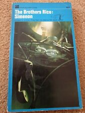 Georges Simenon.Vintage Crime Novel.THE BROTHERS RICO.1967 Four Square PB Book