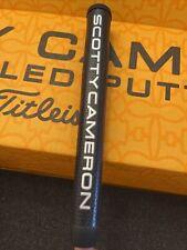 Scotty Cameron Large/XL Black/Grey/Gold Matador Putter Grip New