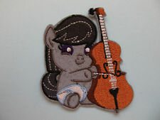 Horse Playing String Instrument Iron on Applique Patch
