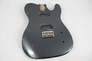 MJT Official Custom Vintage Age Nitro Guitar Body Mark Jenny VTT Charcoal Frost