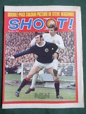 SHOOT - MAGAZINE-3 JULY 1971- JOHN GREIG - STEVE HEIGHWAY - TOMMY WRIGHT