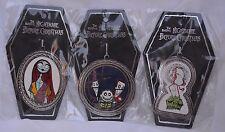 Nightmare Before Christmas, Jack, Sally, Lock Shock & Barrel Ornament Set DRL