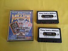 THEY SOLD MILLION Commodore C64 - Gioco cassetta Game Vintage BEACH HEAD KARNATH