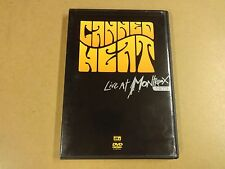 MUSIC DVD / CANNED HEAT - LIVE AT MONTREUX 1973