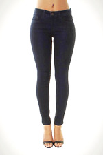 WOMENs Mid Waisted Skinny Jeans Jeggings Ladies Denim Pants Hipster 8-20