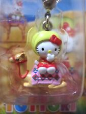 Sanrio Hello Kitty Camel TOTTORI Charm Mascot Cell Phone Strap Japan New