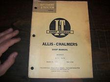 ALLIS-CHALMERS D-10 D-12 TRACTOR  I & T SHOP SERVICE MANUAL