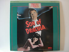 Son of Dracula 1943 Horror Laser Disc Lon Chaney Jr Louise Allbritton - Mint LD