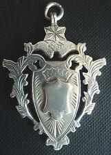 VERY LARGE Silver Medal / Fob 1903 - Bradford Music - J.G. Graves Sheffield