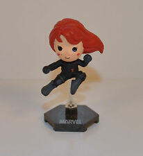 "2012 Black Widow 2.5"" Mini Action Figure Marvel Universe Comics Avengers"