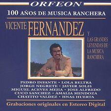 Various Artists : Vicente Fernandez Y Las Grandes Leyendas CD