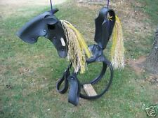 """Classic Horse Tire Swing"""
