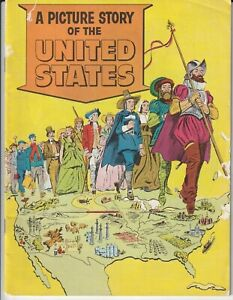 A Picture Story of The United States - USA Information Services Comic Book