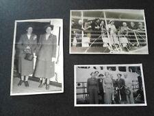 EARLY 1950s photographs passenger ship sydney australia to new zealand phograph